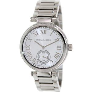 Michael Kors Women's Skylar MK5866 Silver Stainless-Steel Quartz Watch