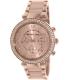 Michael Kors Women's Parker MK5896 Rose-Gold Stainless-Steel Quartz Watch - Main Image Swatch