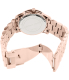 Michael Kors Women's Runway MK5913 Rose-Gold Stainless-Steel Quartz Watch - Back Image Swatch