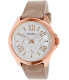 Fossil Women's Cecile AM4532 Camel Leather Quartz Watch - Main Image Swatch