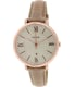 Fossil Women's Jacqueline ES3487 Beige Leather Quartz Watch - Main Image Swatch