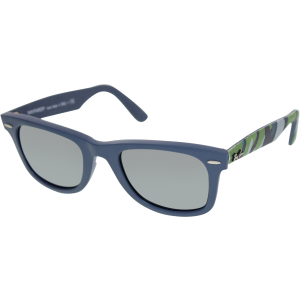Ray-Ban Men's Mirrored Original Wayfarer RB2140-6061/40-50 Blue Wayfarer Sunglasses
