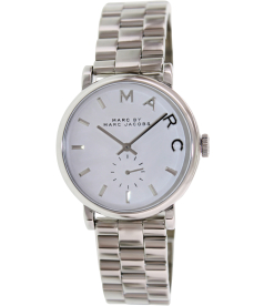 Marc by Marc Women's Baker MBM3242 Silver Stainless-Steel Swiss Quartz Watch