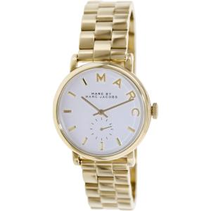 Marc by Marc Jacobs Women's Baker MBM3243 Gold Stainless-Steel Swiss Quartz Watch