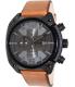 Diesel Men's Overflow DZ4317 Bronze Leather Quartz Watch - Main Image Swatch