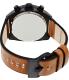Diesel Men's Overflow DZ4317 Bronze Leather Quartz Watch - Back Image Swatch