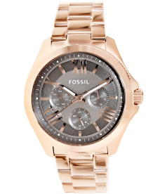 Fossil Women's Cecile AM4533 Brown Stainless-Steel Quartz Watch