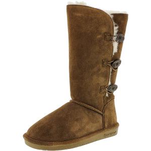 Bearpaw Women's Lauren Mid-Calf Suede Boot