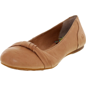 Born Women's Chesire Ankle-High Leather Flat Shoe