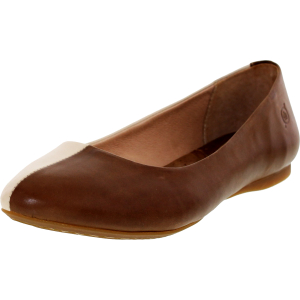 Born Women's Fortuna Ankle-High Leather Flat Shoe