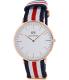 Daniel Wellington Men's Canterbury 0102DW Multi Nylon Quartz Watch - Main Image Swatch