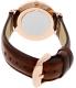 Daniel Wellington Women's Classic St. Mawes 0507DW Brown Leather Quartz Watch - Back Image Swatch