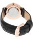Daniel Wellington Women's Sheffield 0508DW Black Leather Quartz Watch - Back Image Swatch
