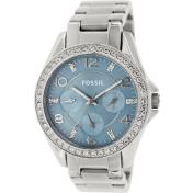 Fossil Women's Riley ES3529 Blue Stainless-Steel Quartz Watch