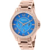 Fossil Women's Riley ES3569 Blue Stainless-Steel Quartz Watch