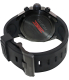 Nixon Men's Steelcat A313001 Birch Carne Silicone Swiss Quartz Watch - Back Image Swatch
