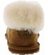 Emu Women's Talinga Ankle-High Sheepskin Flat Shoe - Back Image Swatch