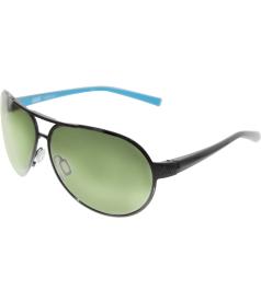 Nike Men's Alaris EV0622-043-63 Black Aviator Sunglasses