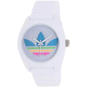 Adidas Men's Santiago ADH2916 White Silicone Quartz Watch