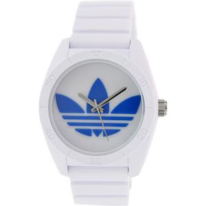Adidas Men's Santiago ADH2921 White Silicone Quartz Watch