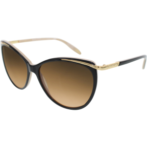 Ralph Lauren Women's Gradient  RA5150-109013-59 Black Cat Eye Sunglasses