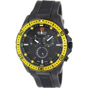 Swiss Military Hanowa Men's Squad 06-4212-27-007-11 Black Rubber Swiss Quartz Watch