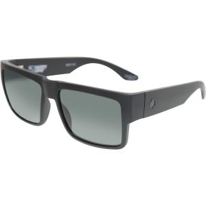 Spy Men's Cyrus 673180374863 Black Rectangle Sunglasses