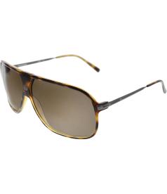 Carrera Men's  CAR54-344CC-64 Tortoiseshell Shield Sunglasses