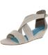 Blowfish Women's Curry High-Top Fabric Sandal - Main Image Swatch