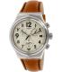 Swatch Men's Irony YVS408 Carmel Leather Swiss Quartz Watch - Main Image Swatch
