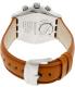 Swatch Men's Irony YVS408 Carmel Leather Swiss Quartz Watch - Back Image Swatch