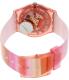 Swatch Women's Originals GP140 Pink Plastic Swiss Quartz Watch - Back Image Swatch
