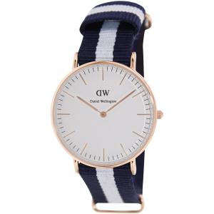 Daniel Wellington Women's Glasgow 0503DW Blue Nylon Quartz Watch