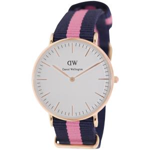 Daniel Wellington Women's Winchester 0505DW Blue Nylon Quartz Watch