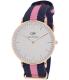 Daniel Wellington Women's Winchester 0505DW Blue Nylon Quartz Watch - Main Image Swatch