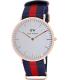 Daniel Wellington Women's Oxford 0501DW White Nylon Quartz Watch - Main Image Swatch