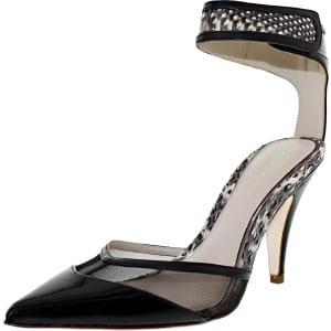 Elie Tahari Women's Treasure Ankle-High Patent Leather Pump