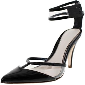 Elie Tahari Women's Treasure Ankle-High Patent Leather Pump