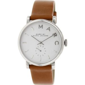 Marc by Marc Jacobs Women's Baker MBM1265 Brown Leather Swiss Quartz Watch
