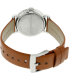 Marc by Marc Jacobs Women's Baker MBM1265 Brown Leather Swiss Quartz Watch - Back Image Swatch