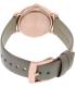 Marc by Marc Jacobs Women's Baker MBM1266 Brown Leather Swiss Quartz Watch - Back Image Swatch