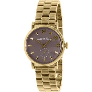 Marc by Marc Jacobs Women's Baker MBM3281 Gold Stainless-Steel Swiss Quartz Watch