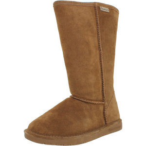 Bearpaw Women's Emma Tall Knee-High Sheepskin Boot