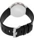 Braun Men's BN0035WHBKG White Leather Quartz Watch - Back Image Swatch