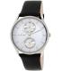 Skagen Men's SKW6065 Black Leather Quartz Watch - Main Image Swatch