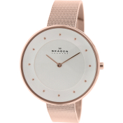 Skagen Women's Gitte SKW2142 Rose-Gold Stainless-Steel Quartz Watch