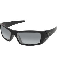 Oakley Men's Gascan 24-435 Black Wrap Sunglasses