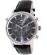 Tommy Hilfiger Men's 1790875 Black Leather Analog Quartz Watch - Main Image Swatch