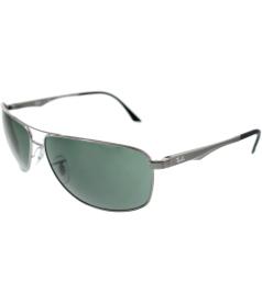 Ray-Ban Men's  RB3506-004/71-64 Grey Rectangle Sunglasses