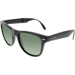 Ray-Ban Men's Wayfarer RB4105-601S-54 Black Wayfarer Sunglasses